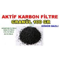 Aktif Karbon Kömür Bazlı 100 Gr