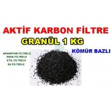 Aktif Karbon Kömür Bazlı 1 Kg