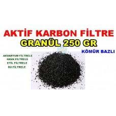 Aktif Karbon Kömür Bazlı 250 Gr