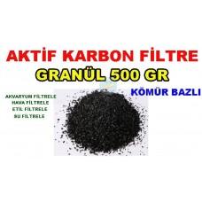 Aktif Karbon Kömür Bazlı 500 Gr