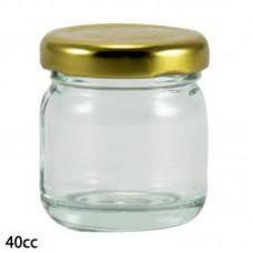 Jar 40 CC With Lid 1 Piece