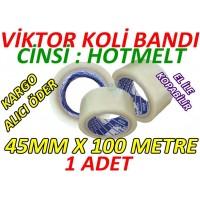 Duct Tape 1 Piece - Hotmelt Tape 45mm x 100 Meter