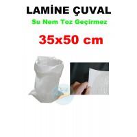 Lamine Çuval 35X50 Polipropilen  - Su Nem Toz Geçirmez