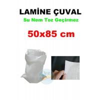 Lamine Çuval 50X85 Polipropilen  - Su Nem Toz Geçirmez