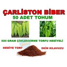 Tohum - Çarliston Biber Tohumu TATLI Biber 100 Adet