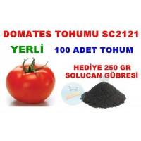 Tohum - SC2121 Domates Tohumu 100 Adet Hediyeli