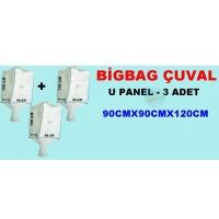 Bigbag Çuval (90x90x120) Lik 3 Adet