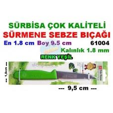 Sürbisa Sürmene Çeliği Sebze Bıçağı 61004 Yeşil