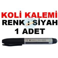 Koli Kalemi Renk Siyah 1 Adet