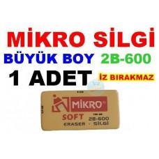 Silgi Mikro 2B-600 Büyük Boy Çizim Silgisi