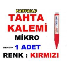 Tahta Kalemi Mikro - Renk Kırmızı - Kartuşlu MR 6019