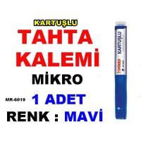 Tahta Kalemi Mikro - Renk Mavi - Kartuşlu MR 6019