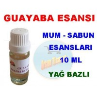 Esans - Guayaba Esansı 10 ml Mum Sabun Taş