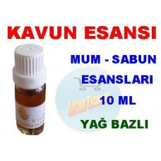 Esans - Kavun Esansı 10 ml Koku Mum Sabun Esansı Kokusu