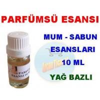 Esans - Parfumsu Esansı 10 ml Koku Mum Sabun Esansı Kokusu