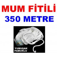 Pamuklu Mum Fitili 350 Metre