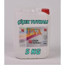 Flower Glue PVA Polymer 5000 Gr - 5 Kg