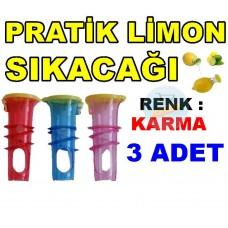 Kolay Limon Sıkacağı - Pratik Limon 3 Adet