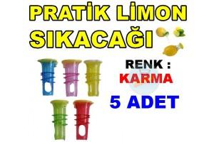 Kolay Limon Sıkacağı - Pratik Limon 5 Adet