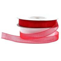 Organza Ribbons 2 Cm Red Ribbon