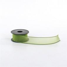 Organza Ribbons 2 Cm Pistachio Green Ribbon