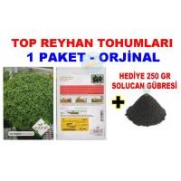 Cicek Tohumlari Top Reyhan 1 Paket