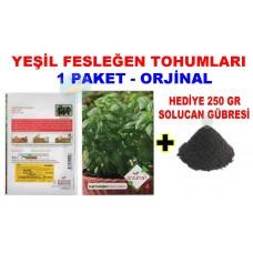 Cicek Tohumlari Yesil Feslegen 1 Paket